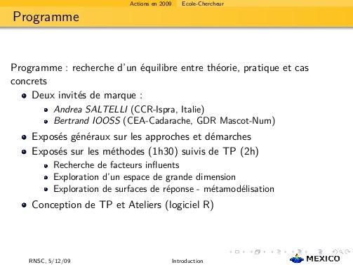 programme EC