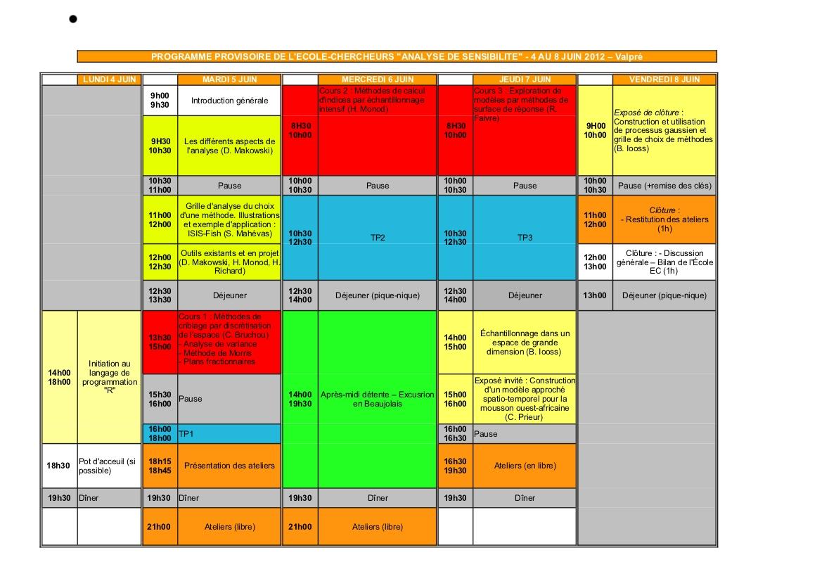 programme EC MExico 2012