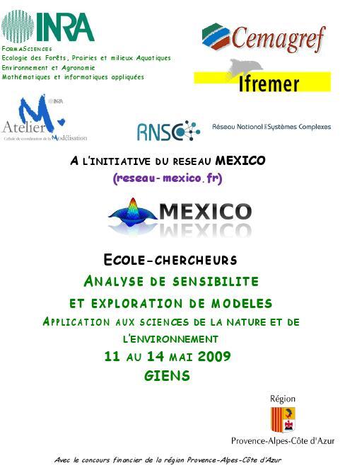 accueil École Chercheurs Mexico 09
